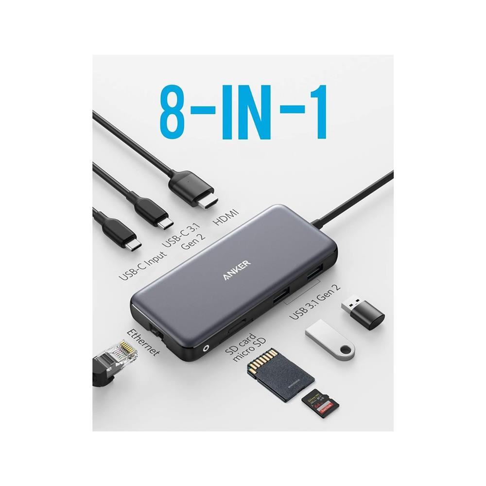 Anker USB hub PowerExpand 8-in-1 USB-C PD