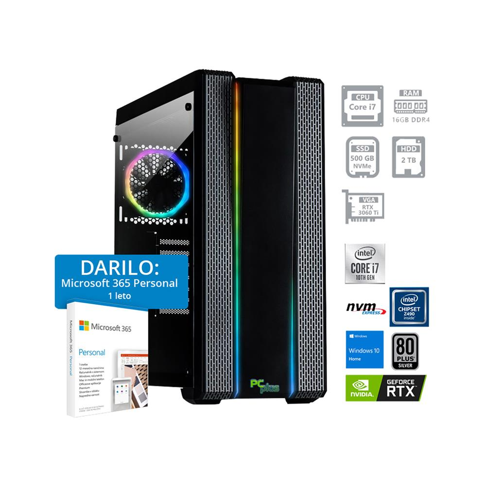 PCplus Dream machine i7-10700F RTX3060TI Windows 10