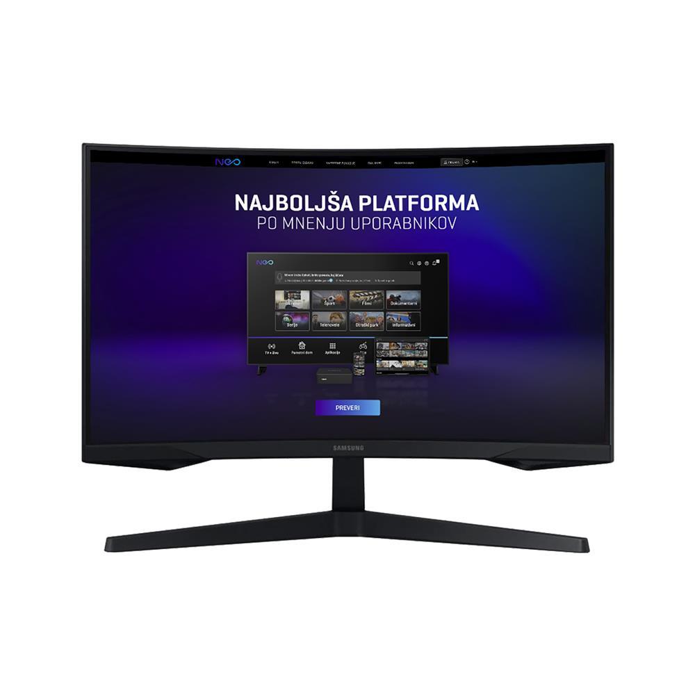 Samsung Gaming monitor Odyssey C27G55TQWR
