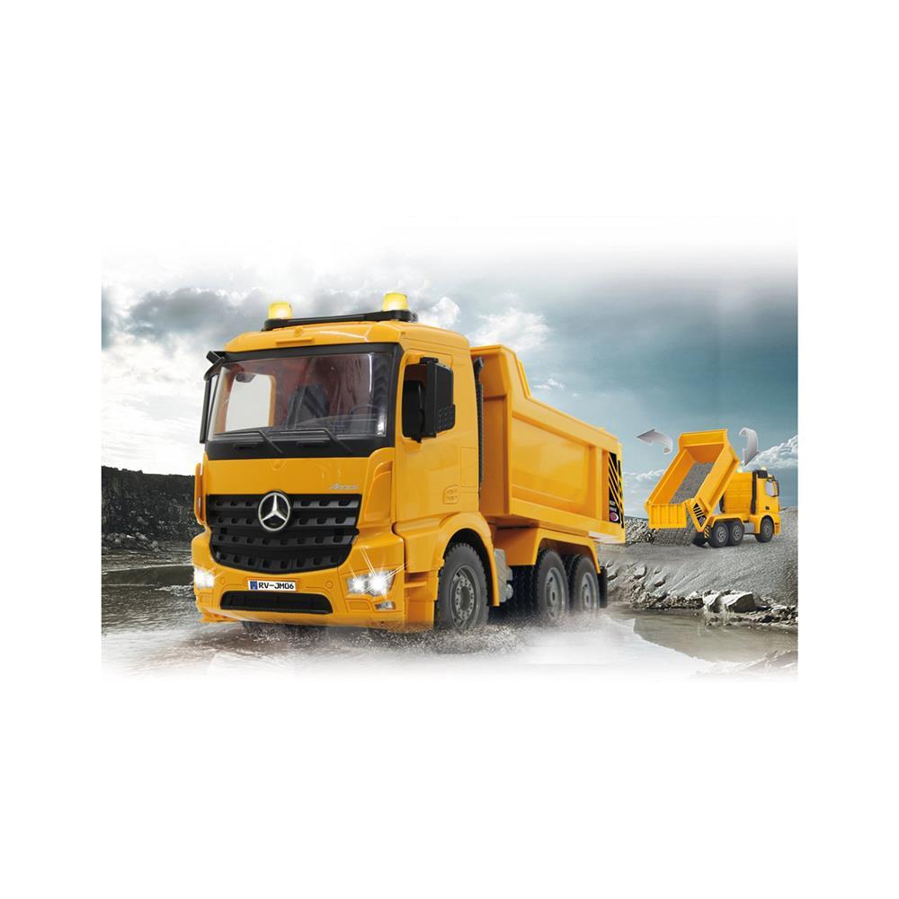 Jamara Radijsko vodeno vozilo Dump Truck Mercedes-Benz Arocs