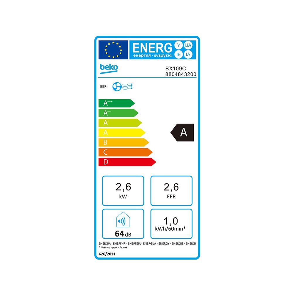 Beko Prenosna klima BX109C