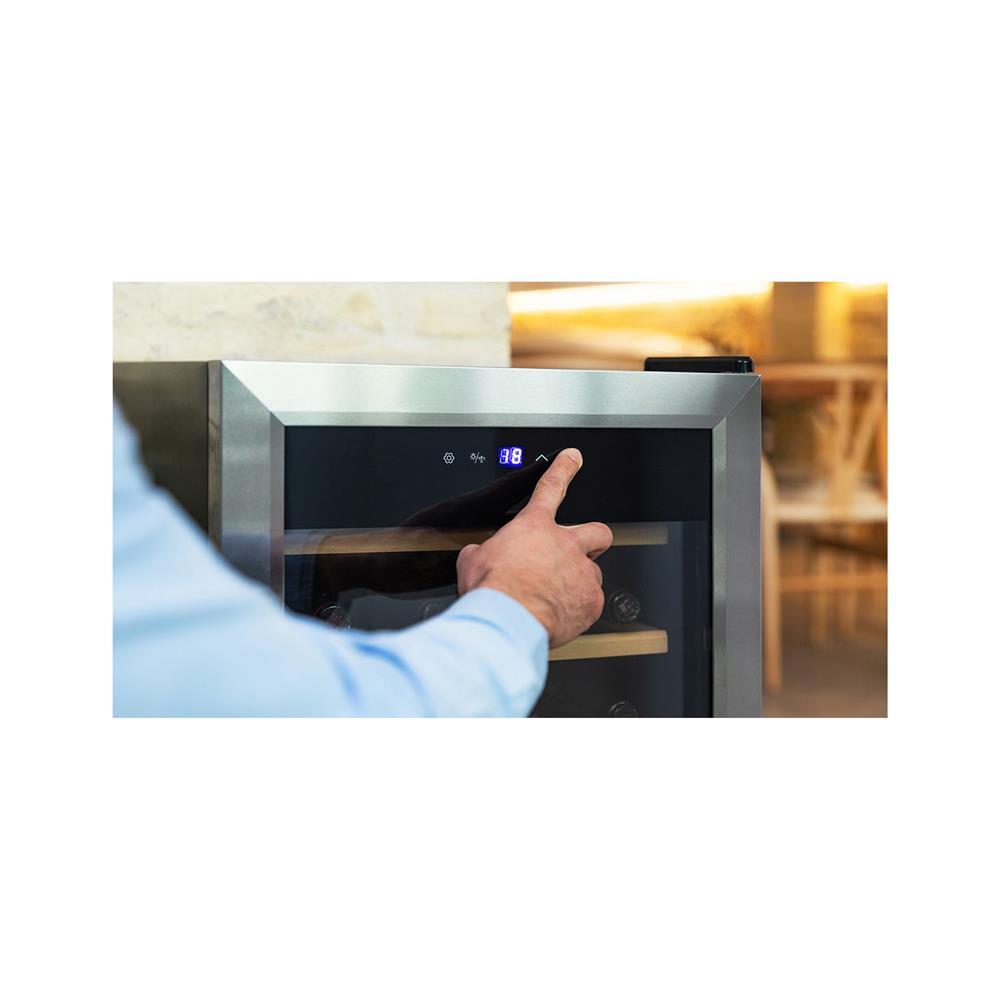 Cecotec Vinska vitrina GrandSommelier 24000 Inox Compressor