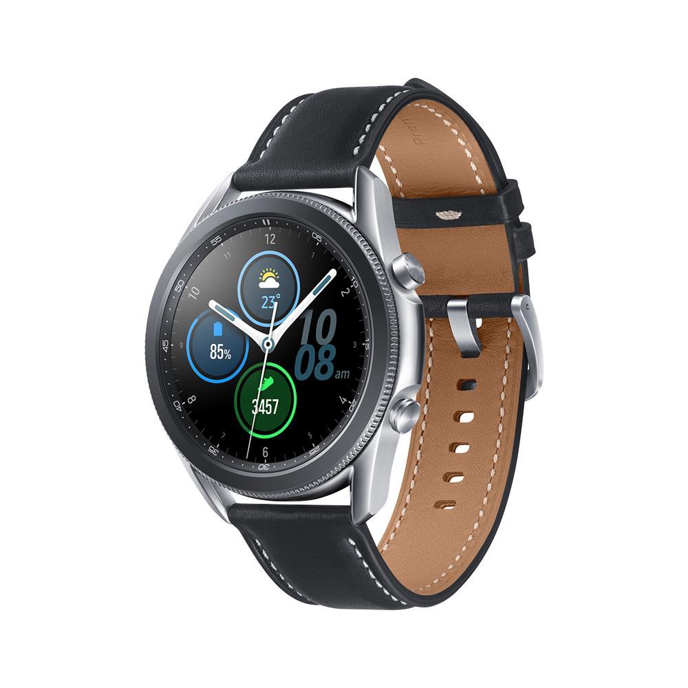 Samsung Pametna ura Galaxy Watch3 45mm BT (SM-R840) in Wireless Charger Pad (EP-P1300)