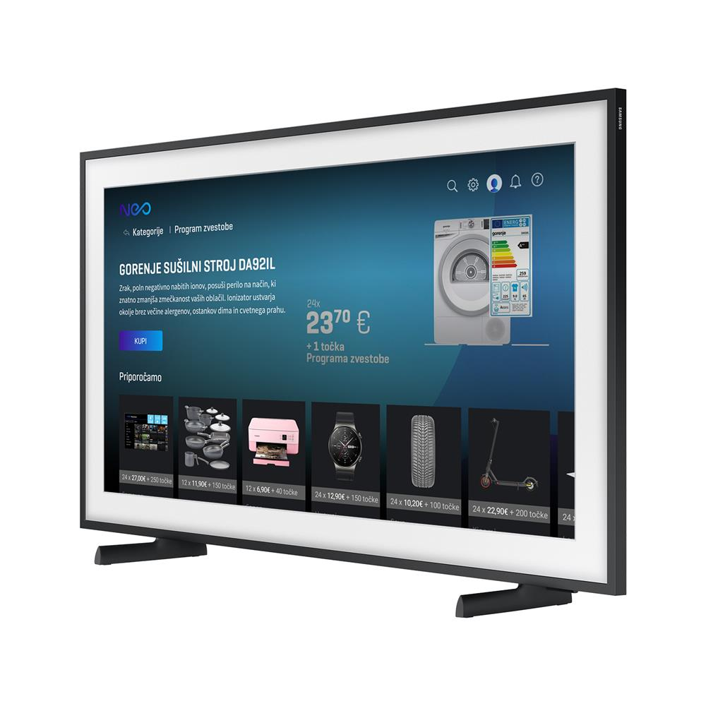 Samsung QLED Frame TV QE75LS03AAUXXH 4K