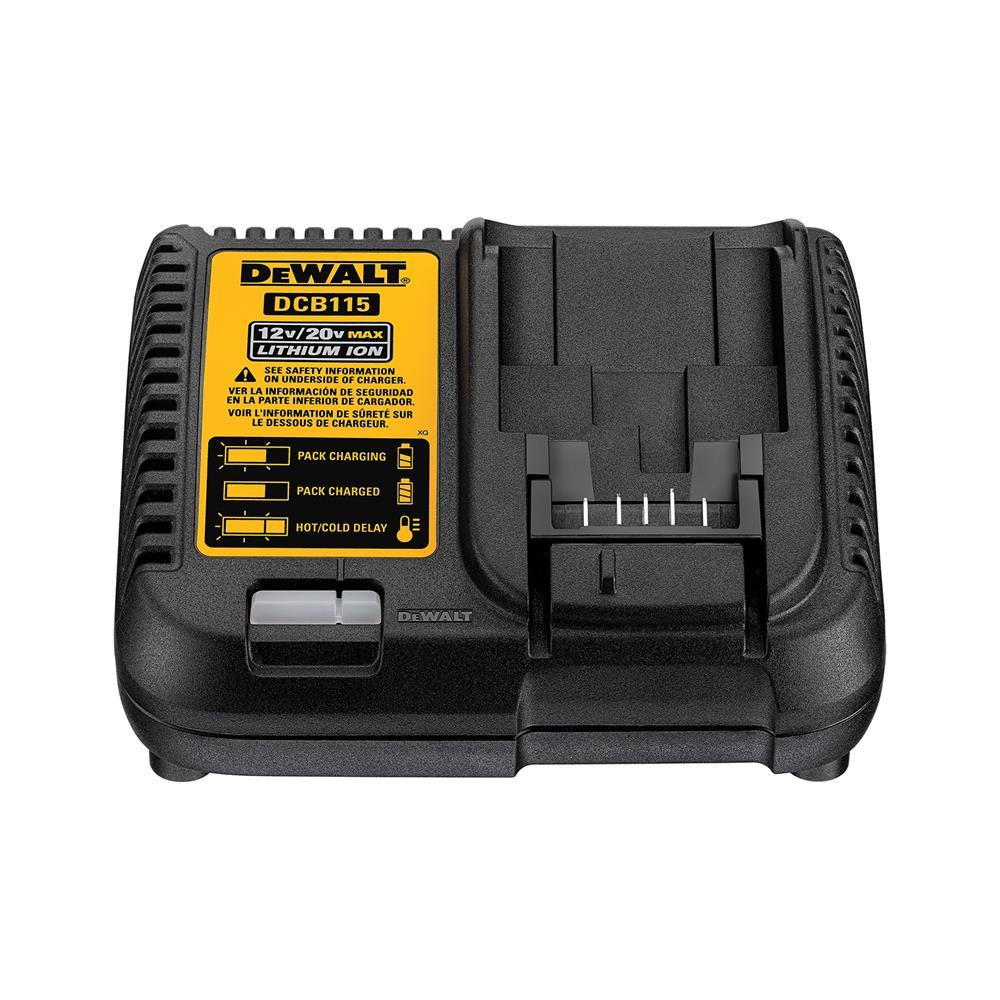 DeWALT 2-delni set akumulatorskega orodja V TSTAK 5,0Ah 18V (DCK2020P2T)