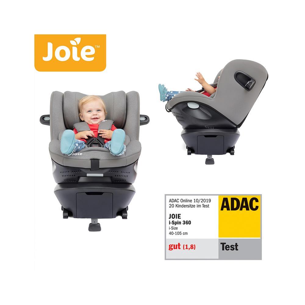 Joie® Otroški avtosedež i-Spin™ 360 i-Size 0+/1 (40-105 cm) Grey Flannel