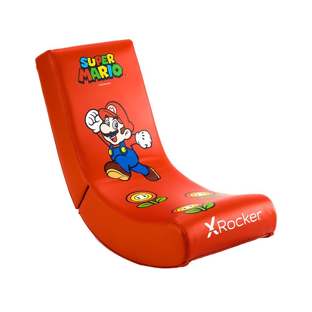 X Rocker Gamerski stol official Nintendo Super Mario All-Star Collection – Mario