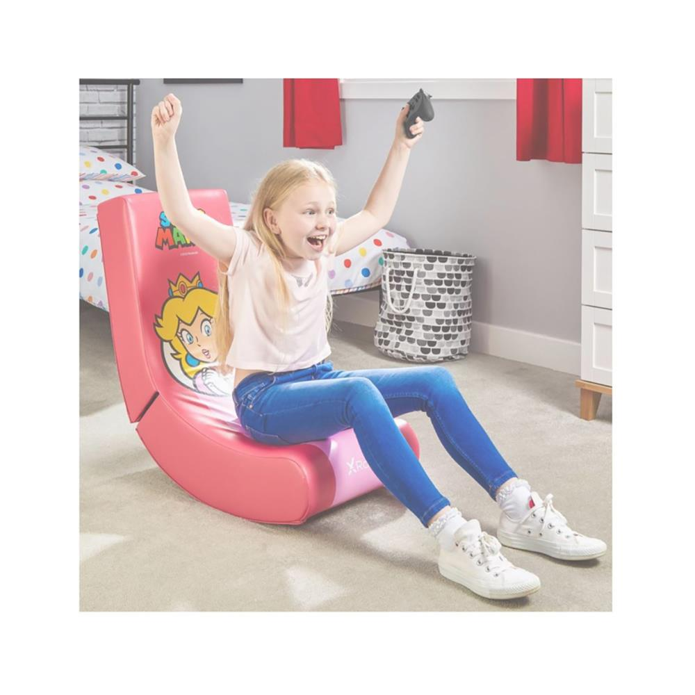 X Rocker Gamerski stol official Nintendo Super Mario All-Star Collection – Princess Peach
