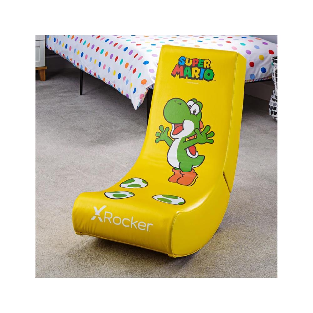 X Rocker Gamerski stol official Nintendo Super Mario All-Star Collection – Yoshi