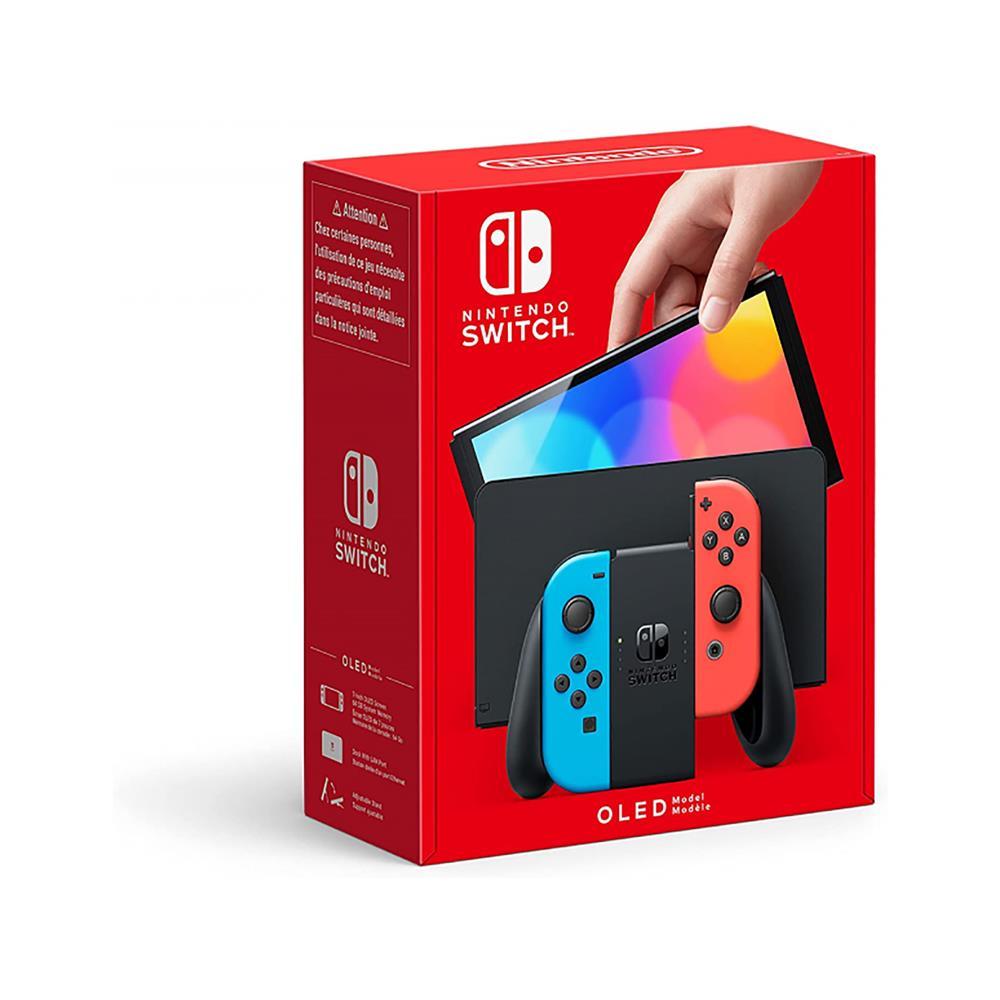 Nintendo Igralna konzola Switch (OLED Model) - Neon rdeča & modra