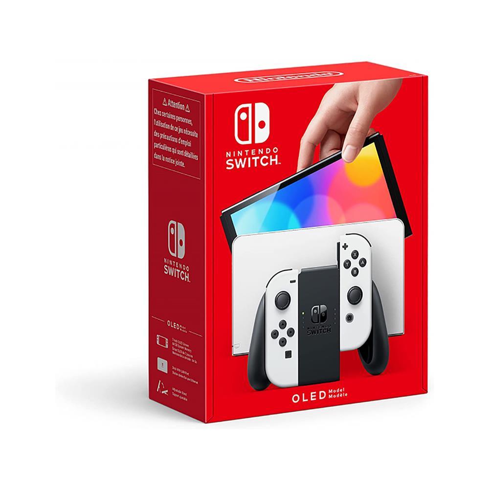 Nintendo Igralna konzola Switch (OLED Model) - bela