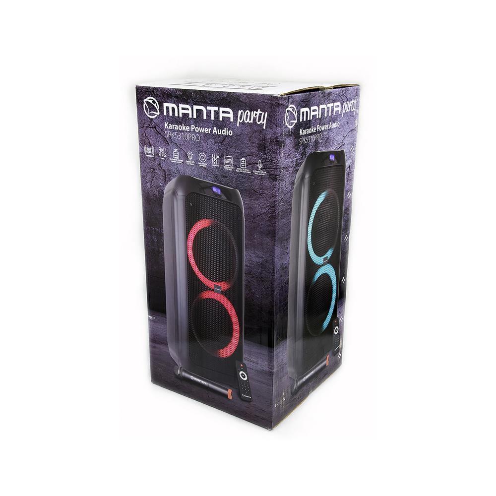 MANTA Karaoke zvočni sistem SPK5310 PRO