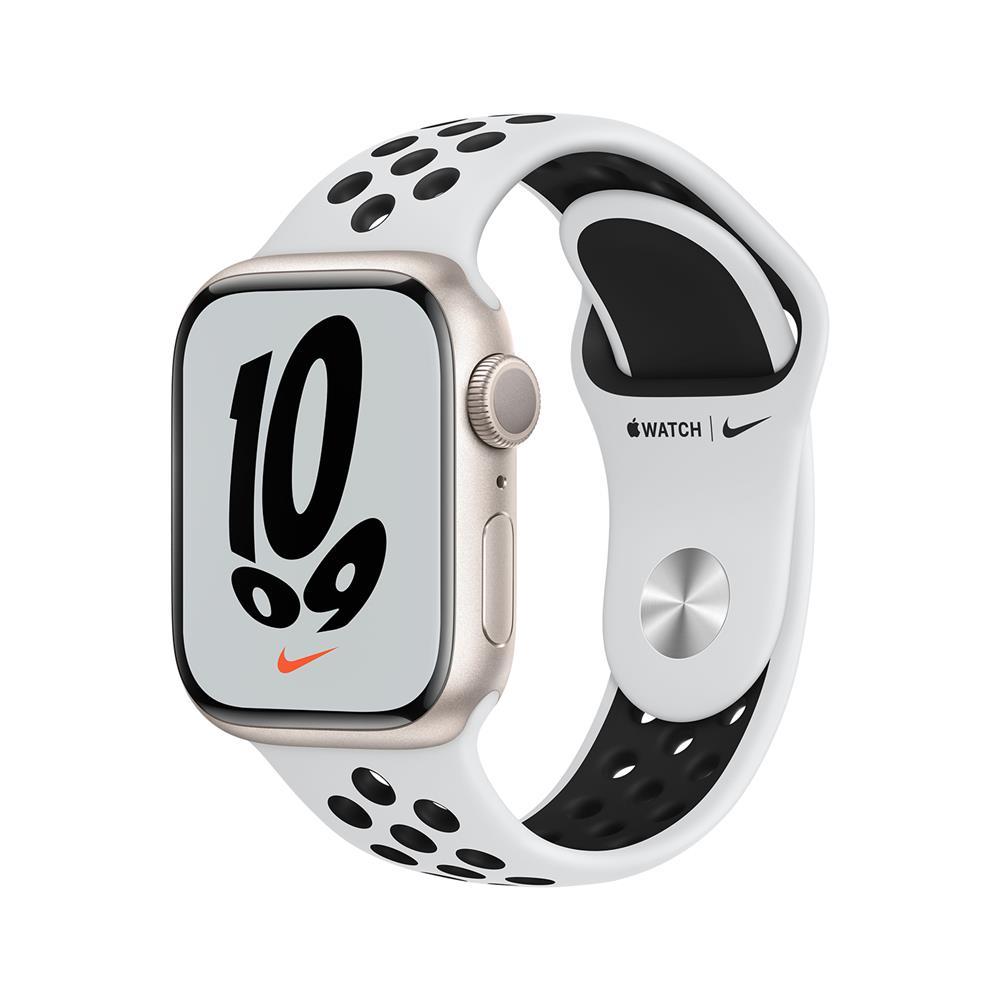Apple Pametna ura Watch Nike Series S7 GPS 41mm Nike Sport Band (MKN33BS/A)