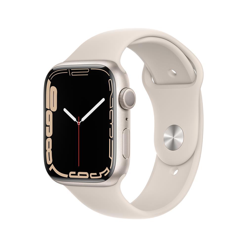 Apple Pametna ura Watch Series S7 GPS 45mm Sport Band (MKN63BS/A)
