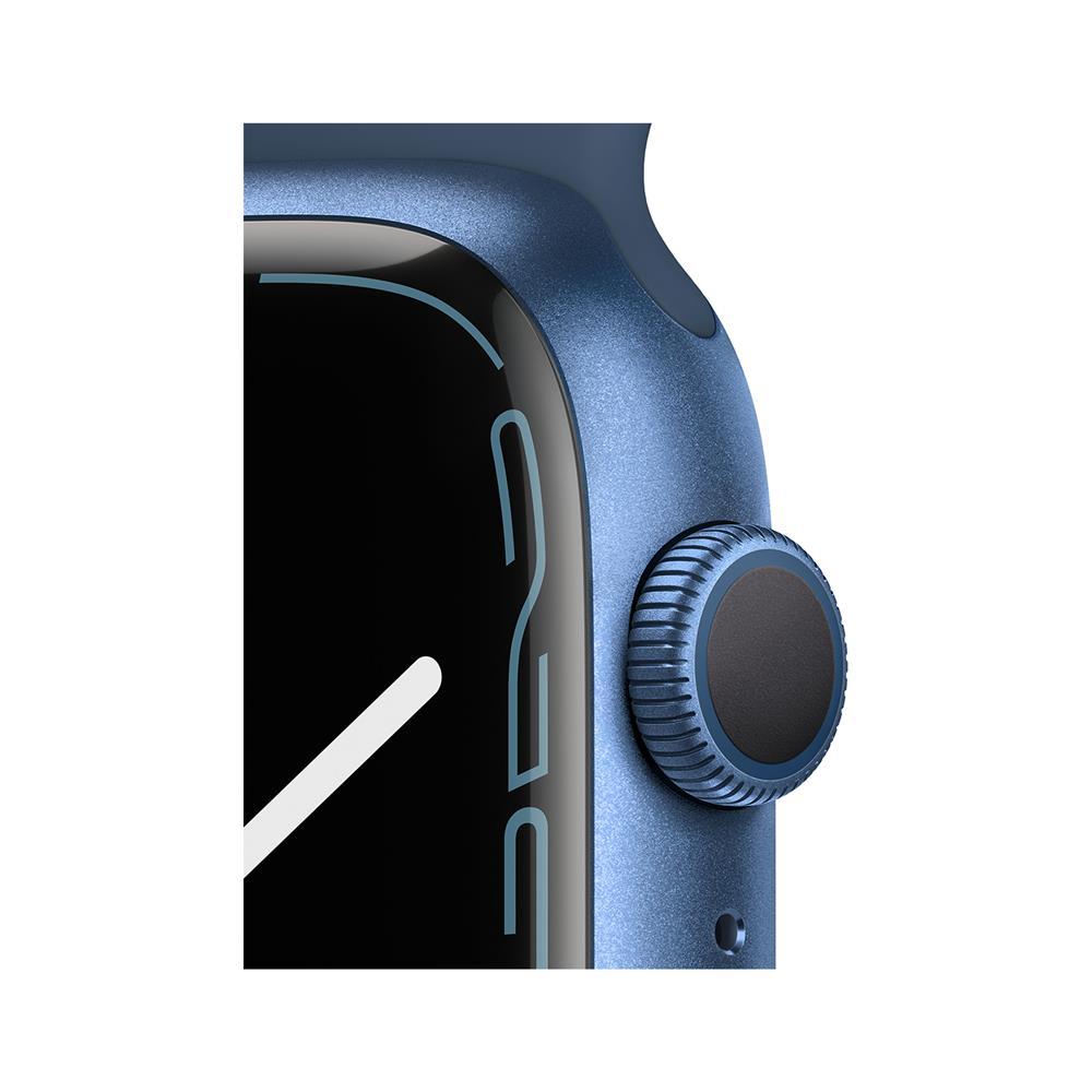 Apple Pametna ura Watch Series S7 GPS 45mm Sport Band (MKN83BS/A)