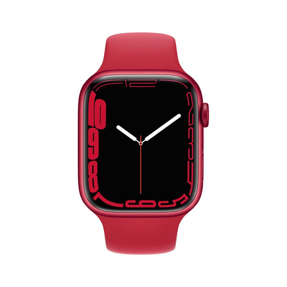 Apple Pametna ura Watch Series S7 GPS 45mm Sport Band (MKN93BS/A)