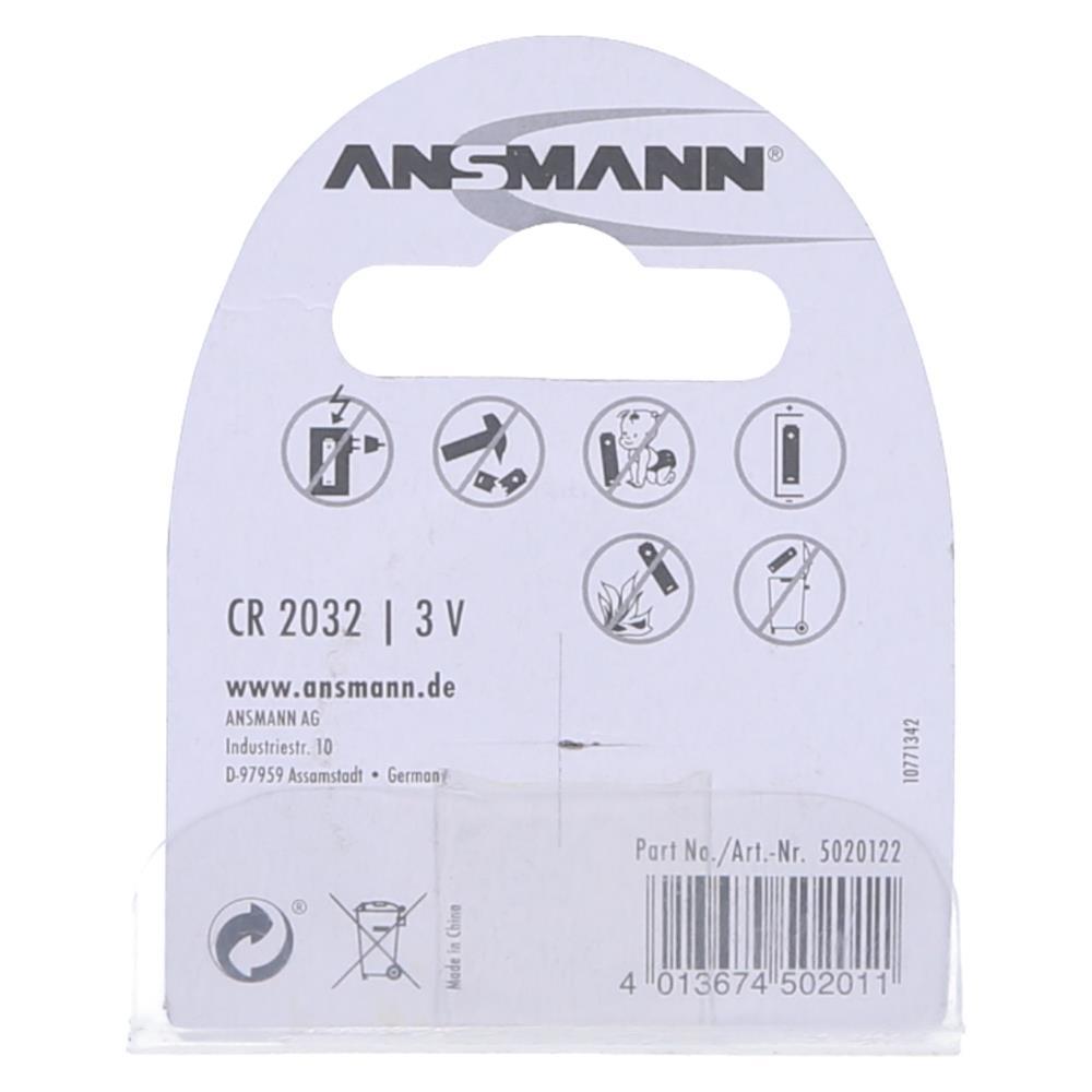 Ansmann Baterijski vložek CR 2032 3V