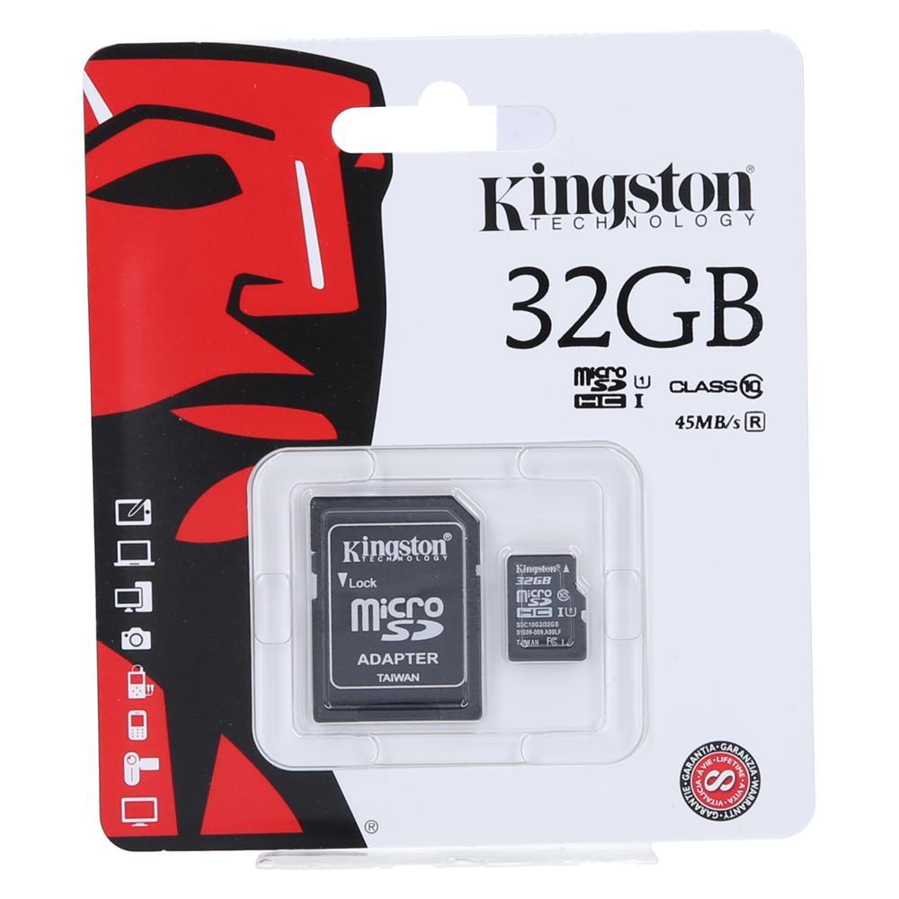 KINGSTON Kartica Micro SDHC 32GB Class10+adapter