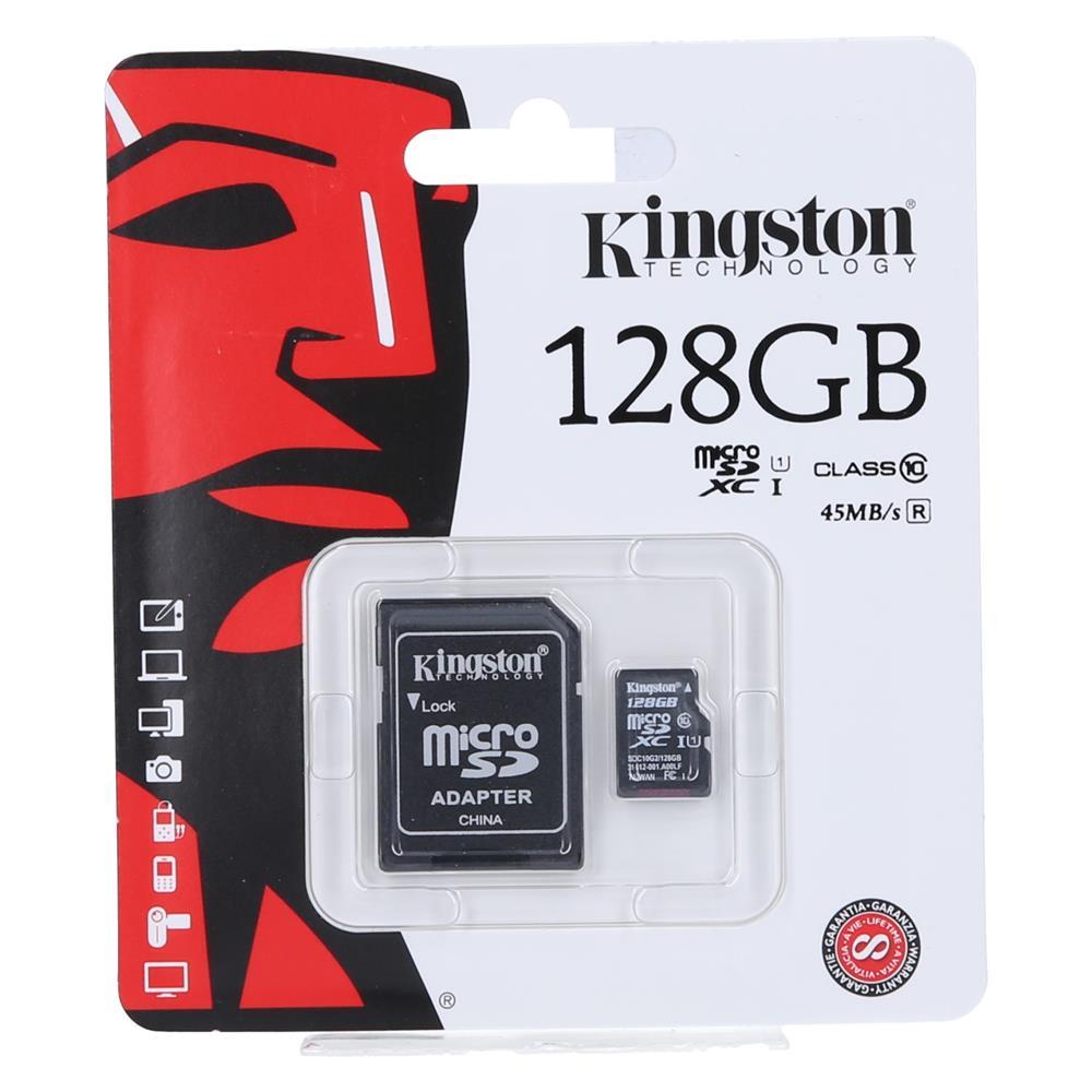 KINGSTON Kartica Micro SDXC 128GB Class10 + adapter