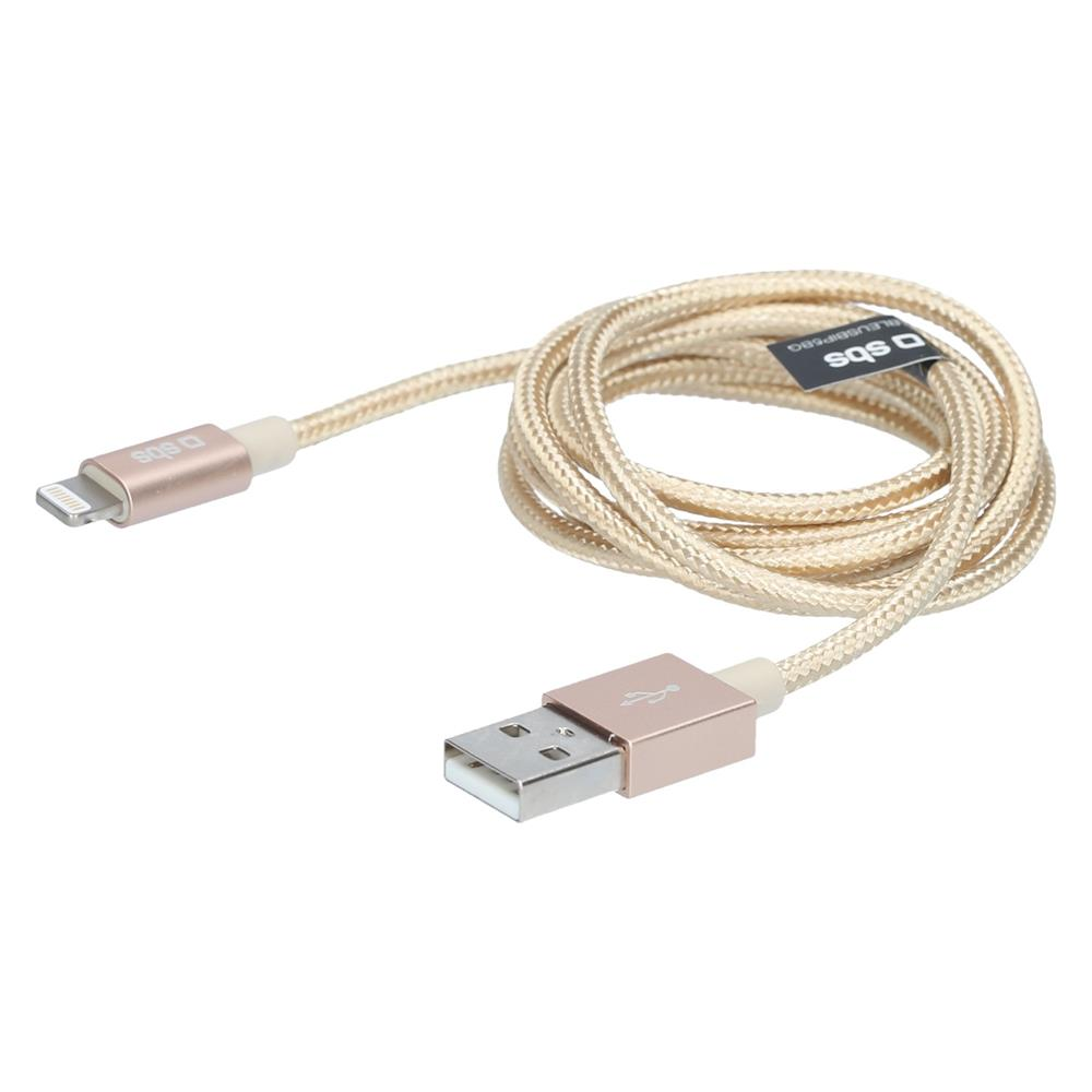 SBS Podatkovni USB 2.0 kabel Apple Ligthning (TECABLEUSBIP5BG)