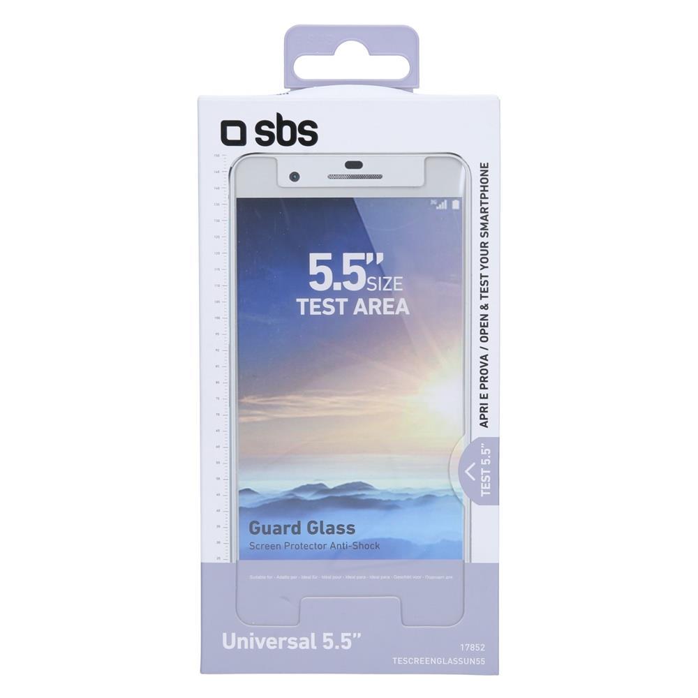 SBS Univerzalno kaljeno steklo (TESCREENGLASSUN55)