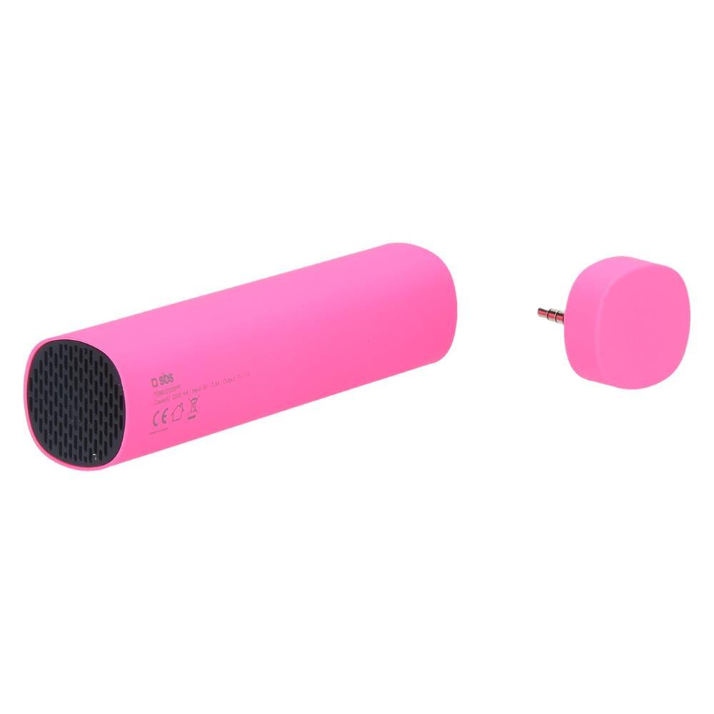SBS Polnilna Baterija + zvočnik (TEBB2200SPP)