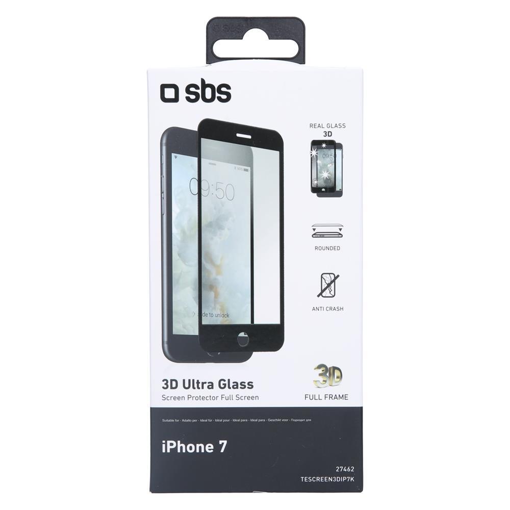 SBS Zaščitno steklo 3D (TESCREEN3DIP7K)