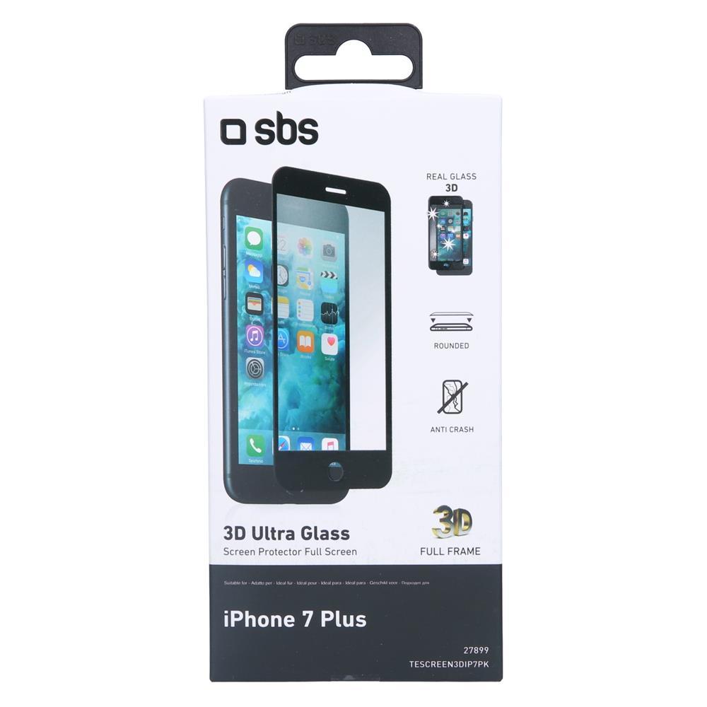 SBS Zaščitno steklo 3D (TESCREEN3DIP7PK)