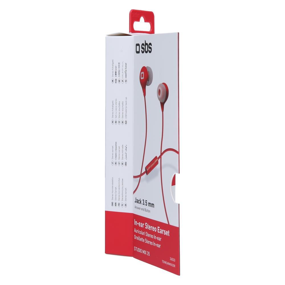 SBS Stereo slušalke Studiomix 35 (TEINEARMIX35R)