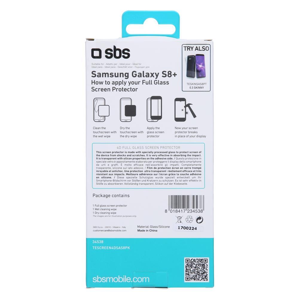 SBS Zaščitno steklo 4D (TESCREEN4DSAS8PK)