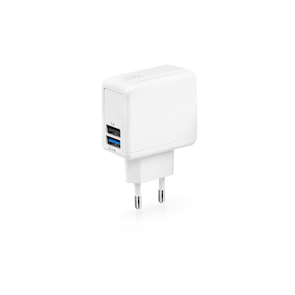 SBS USB polnilec 90/240V (TETRAV2USB2AW)