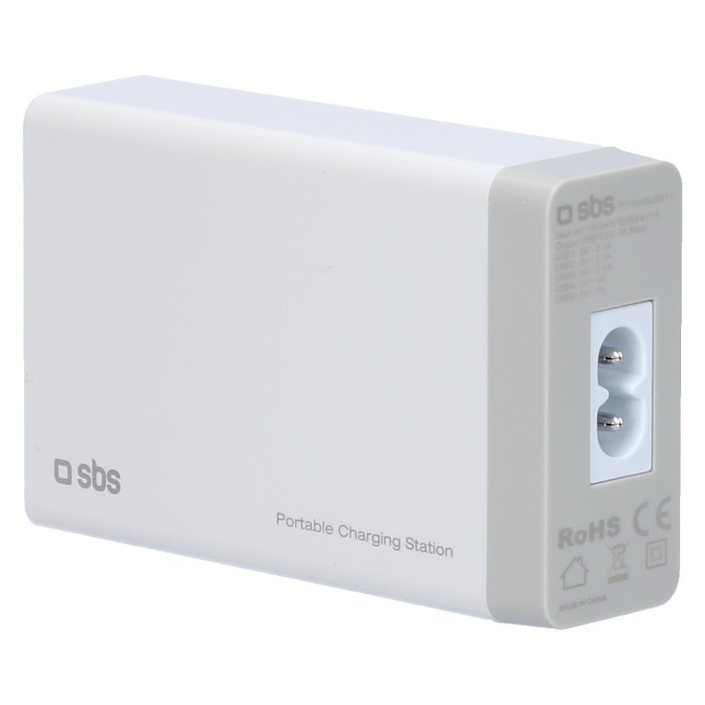 SBS Hišini polnilec 5x USB