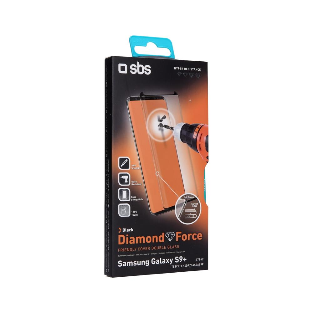SBS Zaščitno steklo Diamond Force (TESCREEN4DPZEASSAS9P)