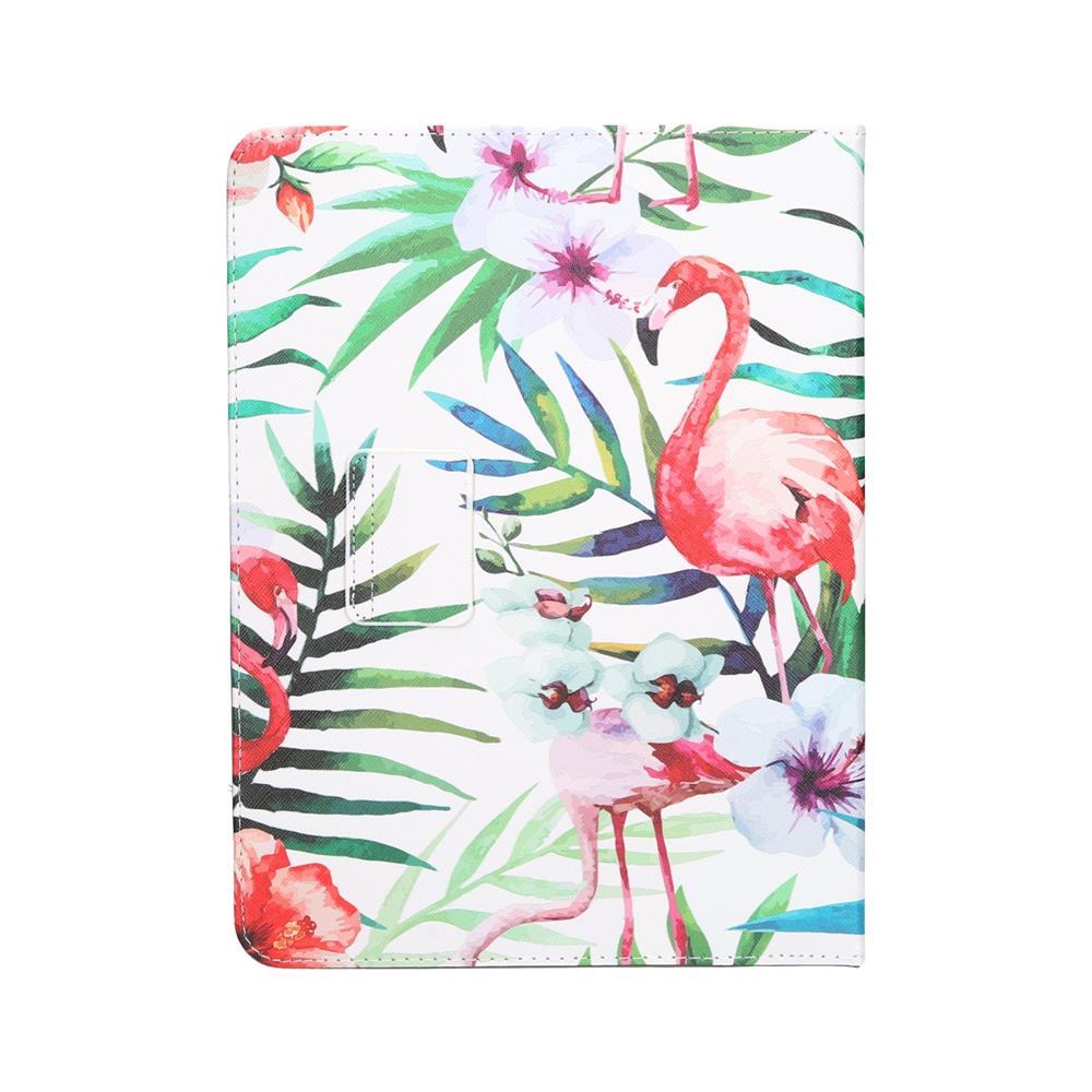 GREENGO Univerzalni ovitek za tablice Flamingo 9-10