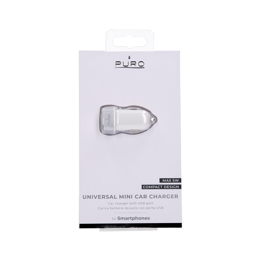 Puro Avtopolnilec Compact USB 1A