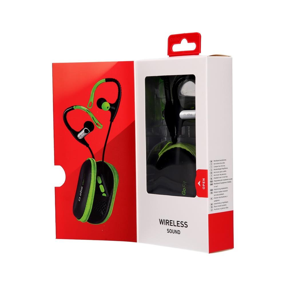 SBS Bluetooth stereo slušalke Fit Runner (TESPORTEARSETBTFITG)
