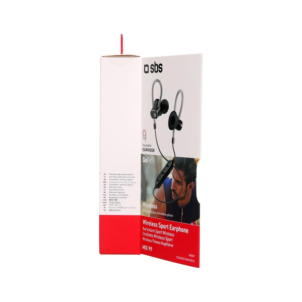 SBS Bluetooth stereo slušalke Mix 99 (TEEARSETMIX99BTK)