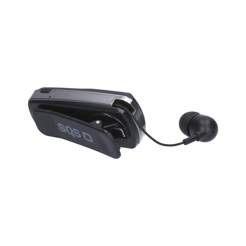 SBS Bluetooth slušalka z raztegljivim kablom (TEROLLCLIPBTK)