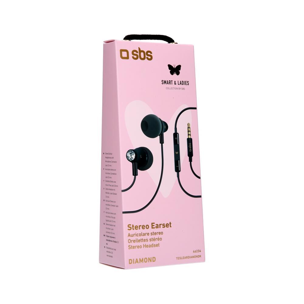 SBS Stereo slušalke Diamond (TESLEARDIAMONDK)