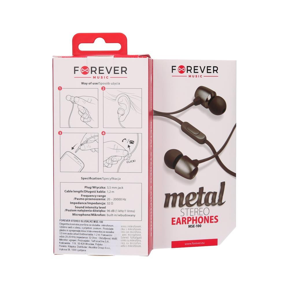 Forever Stereo slušalke (MSE-100)