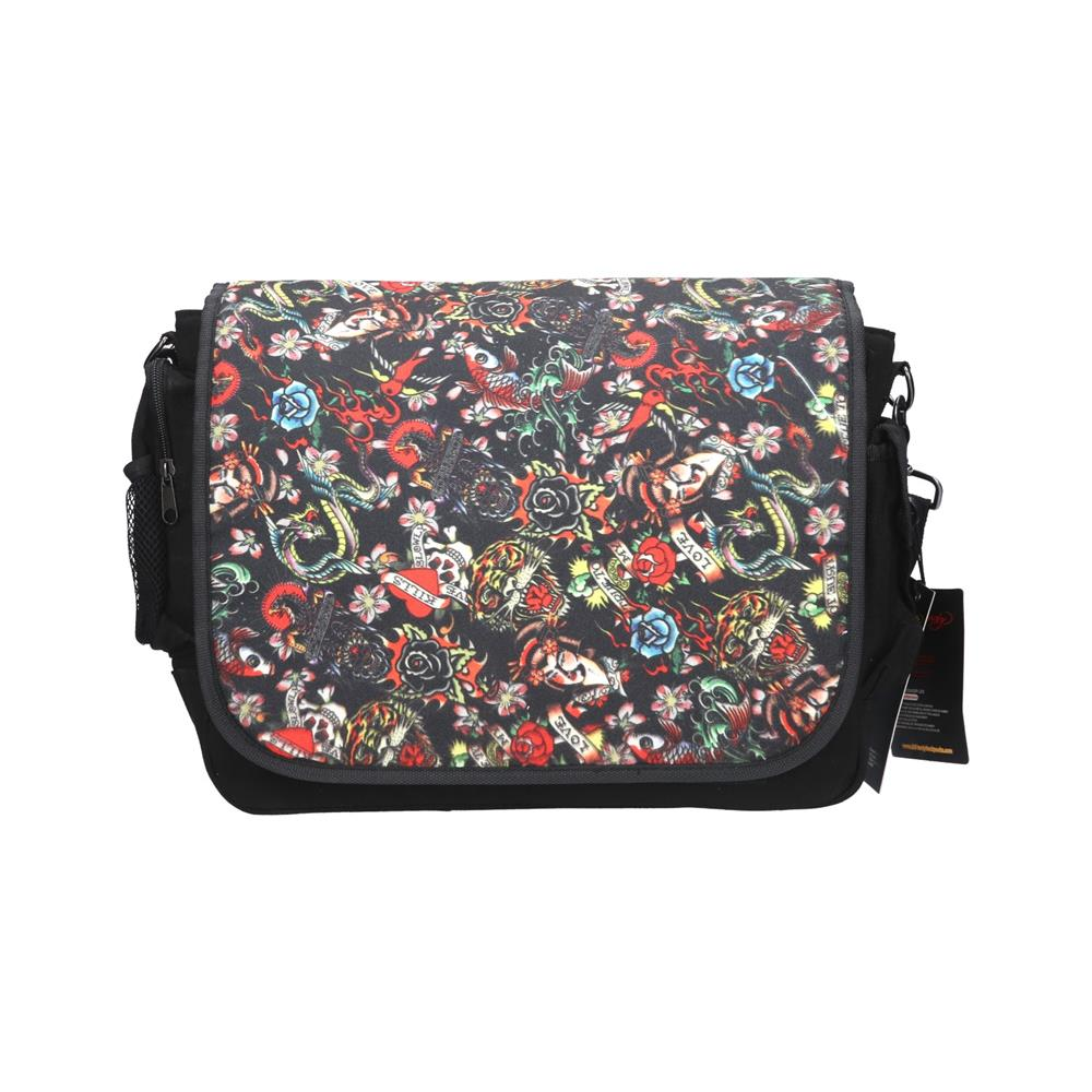 Ed Hardy Torba Leo All Over Collage