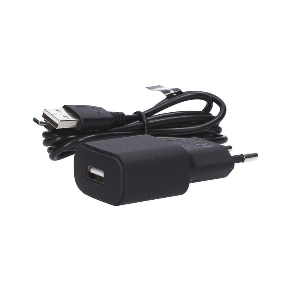 Forever Polnilec 220V USB 1A TC-01 in Micro USB kabel