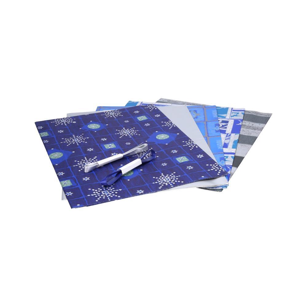 Creative Darilni papir novoletni set