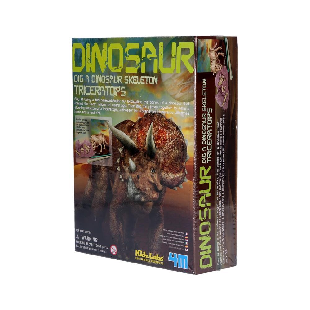 4M Raziskovalni set dinozaver Triceratops