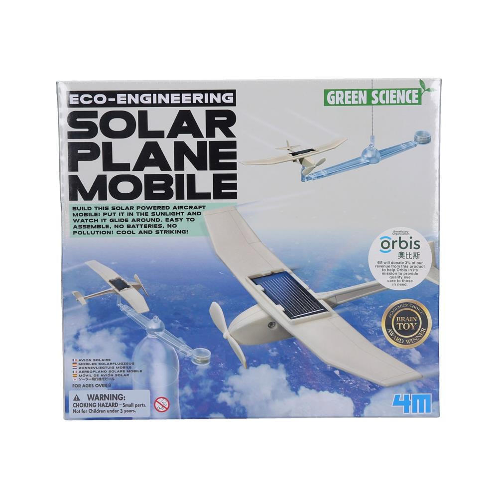 4M Raziskovalni set Letalo na solarni pogon
