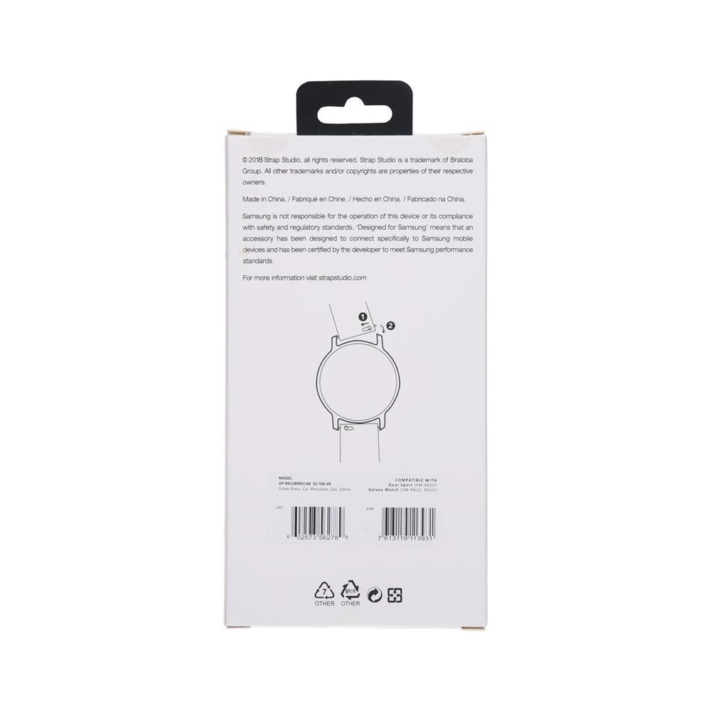 Samsung Usnjeni pašček za uro 42mm (GP-R815BREECAB)