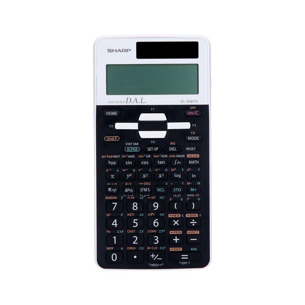 Sharp Kalkulator EL506TSWH