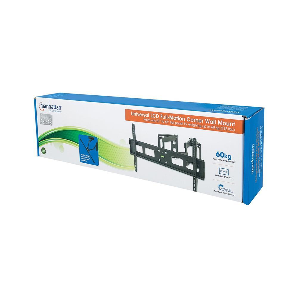 MANHATTAN Kotni stenski nosilec za TV diagonale od 94cm do 160cm