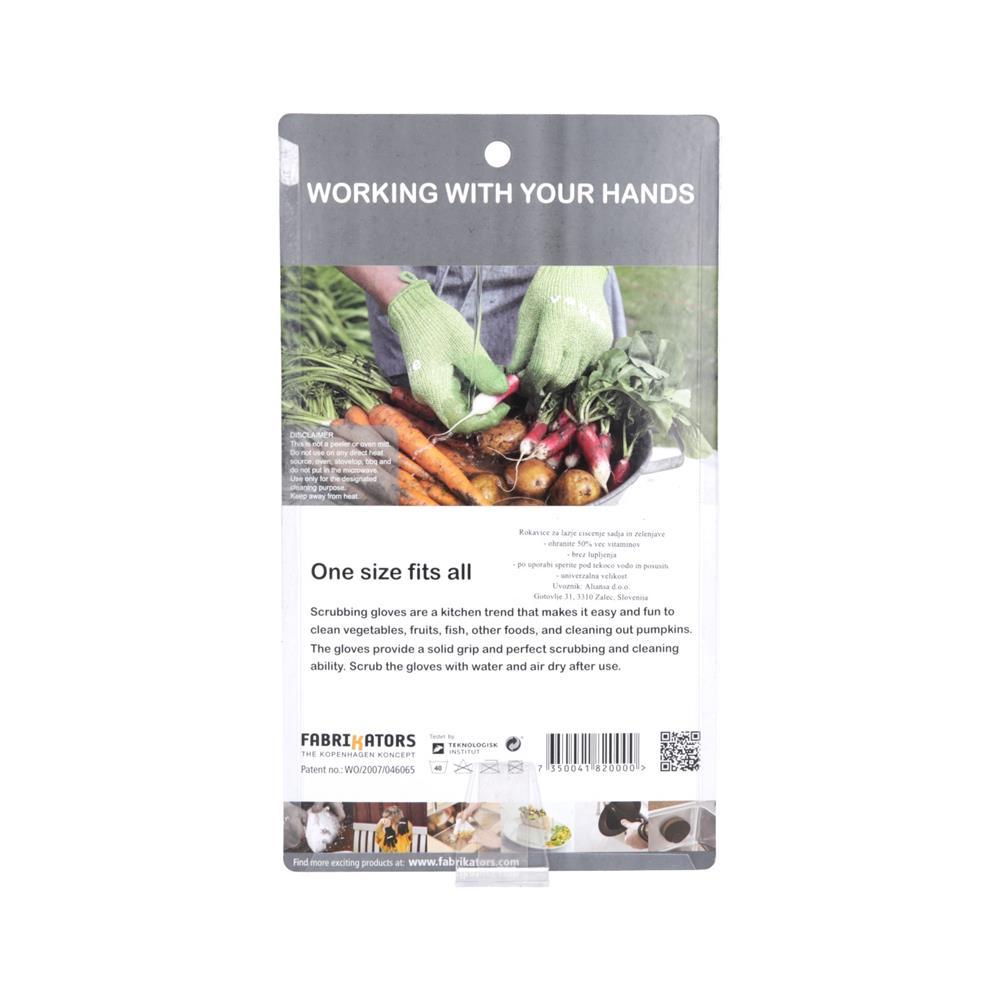 Skrub'a Rokavice za čiščenje zelenjave