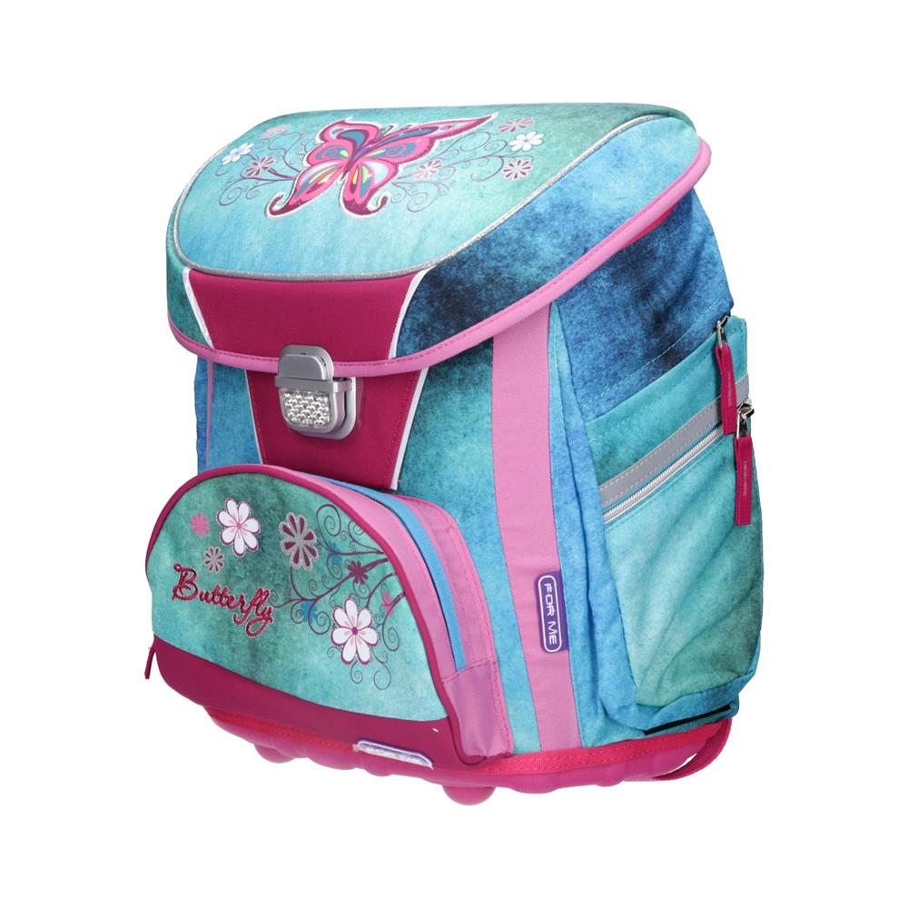 UNIVERZAL Šolska torba ABC ERGO Butterfly FSB1720